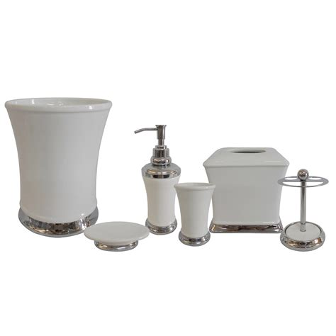 Bathroom Sets And Accessories Bathroom Accessories Tjihome