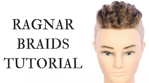 how to do hair like lagatha lothbrok ragnar braids tutorial thesalonguy youtube