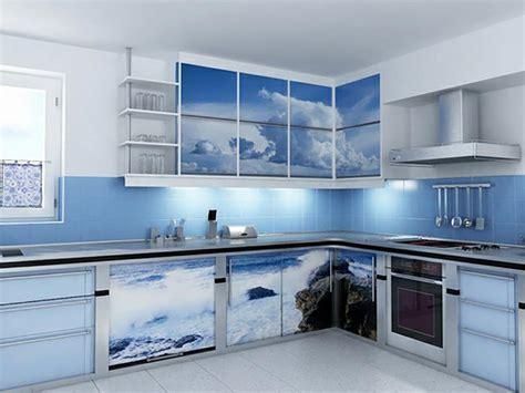cuisine bleu ciel une cuisine en bleu inspir 233 e par la mer