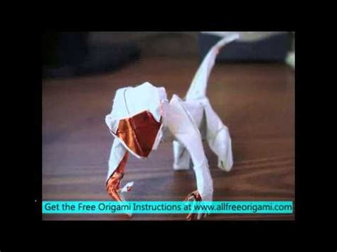 How To Make A Paper Monkey - origami monkey