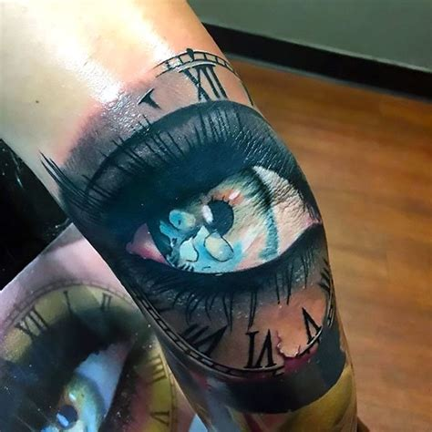 tattoos for men elbow eye on for idea