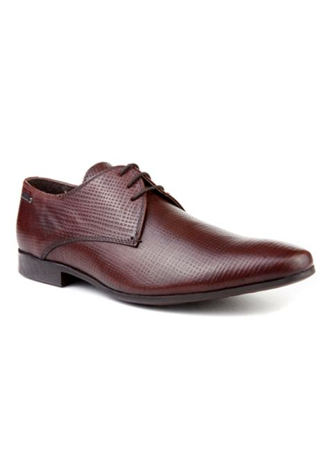 brown leather formal shoes rts7222