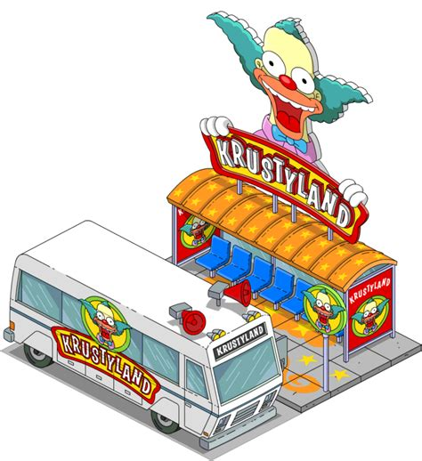Sea Decorations For Home the krustyland shuttle bus the simpsons tapped out topix