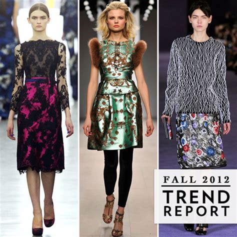 9 Fashion Trends by 2012 In Fashion