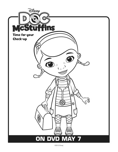 Doc Mcstuffins Worksheets by Free Coloring Pages Of Dr Mc Stuffin
