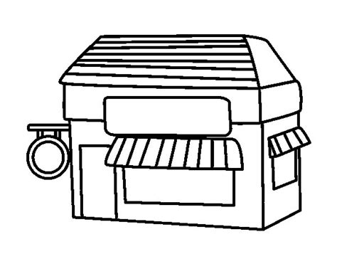 coloring book warehouse store coloring page coloringcrew