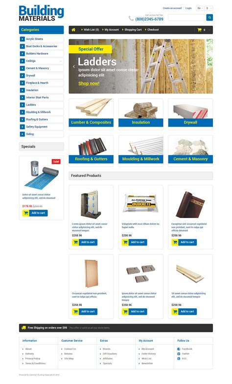 opencart template builder gallery templates design ideas