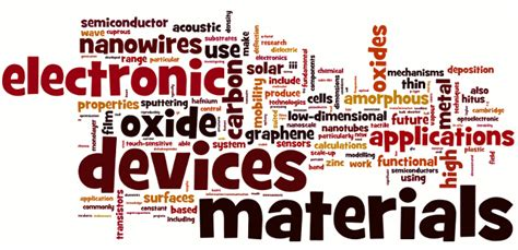 Electronic Devices And Materials