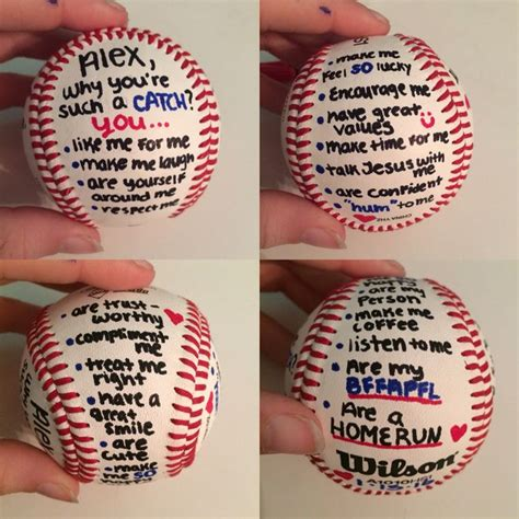 valentines gift for basketball player 25 unique baseball boyfriend gifts ideas on