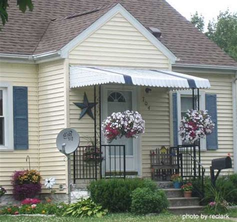 small porch awnings aluminum porch awning metal porch awning