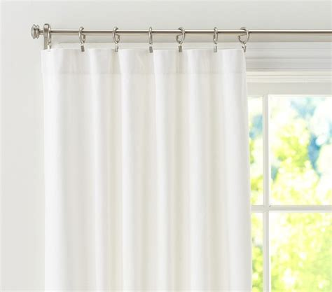 white blackout curtain liner twill panel with blackout liner traditional curtains