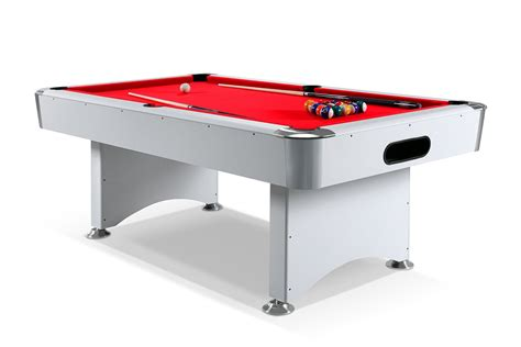 table billard blanc pool table dimensions images