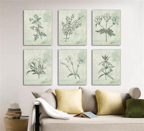framed sketches dining room wall art dining room wall botanical prints floral vintage botanical illustrations