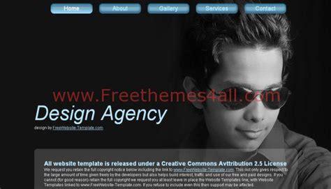 html themes portfolio design agency portfolio website template freethemes4all