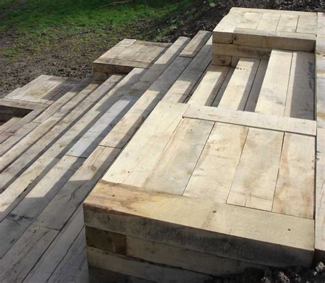 New Sleepers New Oak Railway Sleepers From Railwaysleepers