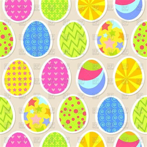 colorful easter eggs colorful easter egg seamless wallpaper royalty free vector