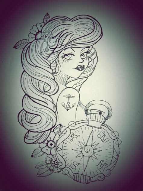 compass tattoo ink master 17 best images about tattoos anchors koi mermaids
