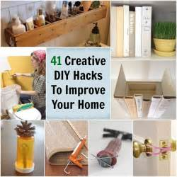 at home diys 41 creative diy hacks to improve your home