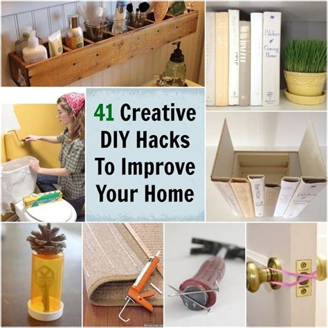 diy home ideas 41 creative diy hacks to improve your home