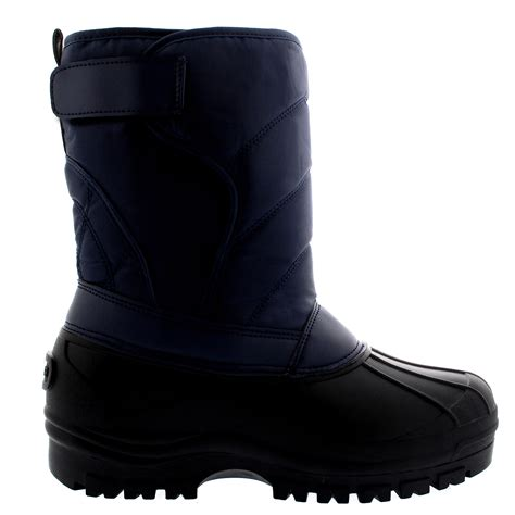 Snowball Box Winter Import Qmr6 mens muck snow flat duck casual warm winter boots all sizes ebay