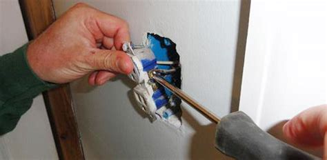Kitchen Cabinets Colorado Springs how to replace a 120 volt electrical wall outlet today s