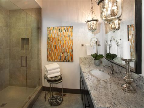 neutral guest bathroom bathroom designs decorating hgtv dream home 2014 guest bathroom pictures and video