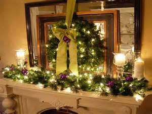 Mantel Decorating Ideas For Christmas Decoration Fireplace Mantel Christmas Decorations
