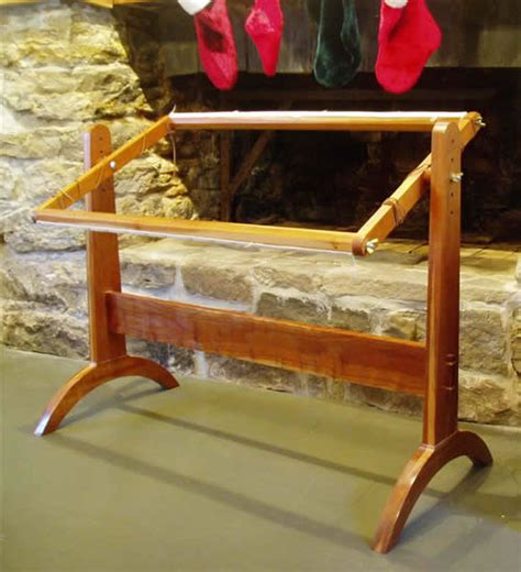 make rug hooking frame furniture