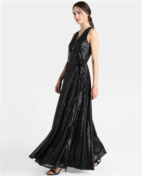 vestido negro corte ingles el corte ingl 233 s vestido largo negro lentejuelas