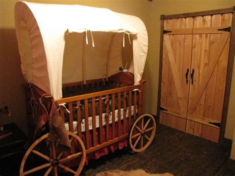 Western Baby Cribs Covered Wagon Bed Plans Woodworking Projects Plans