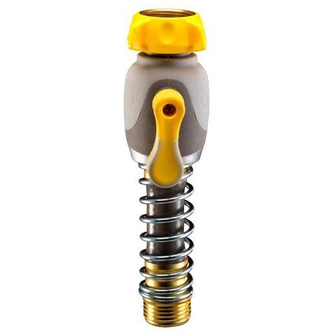 Faucet Hose Adapter Home Depot by Orbit Zinc Faucet Adapter 27903 The Home Depot