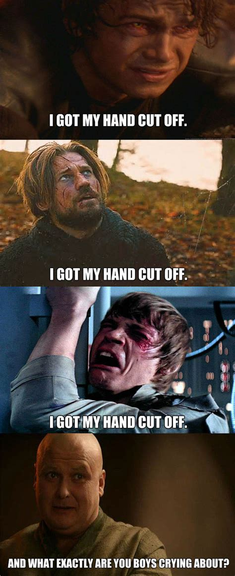 star wars vs game of thrones funny fan made mashups
