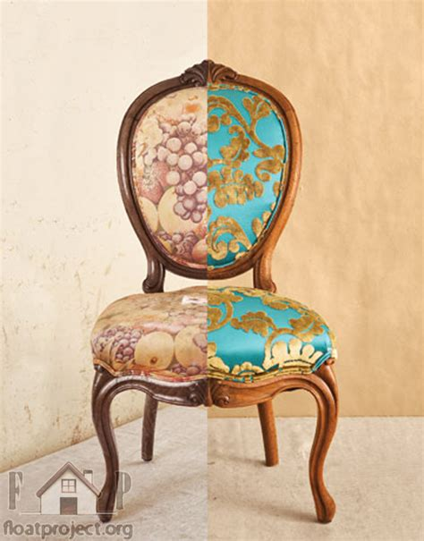 How Do You Reupholster A by How To Reupholster Your Chairs Home Designs Project