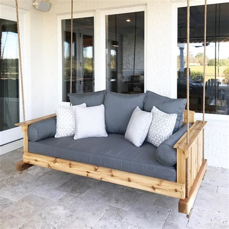 patio swing folds into bed the interest using bed porch swings jbeedesigns outdoor