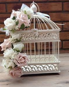 cage oiseau mariage ivoire idee deco table centre