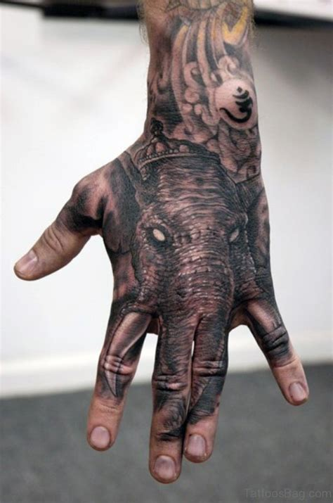 angry elephant tattoo 25 elephant tattoos on
