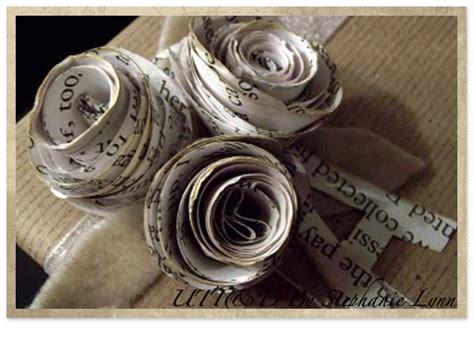 rosas de papel peridico flores hechas con papel periodico imagui
