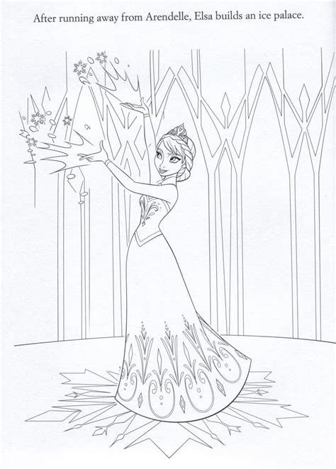 frozen coloring pages elsa ice castle 1000 images about frozen stuff on pinterest frozen