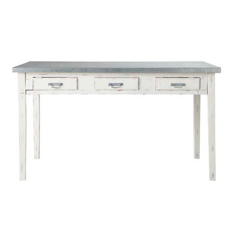 table de salle 224 manger en bois grise l 140 cm sorgues
