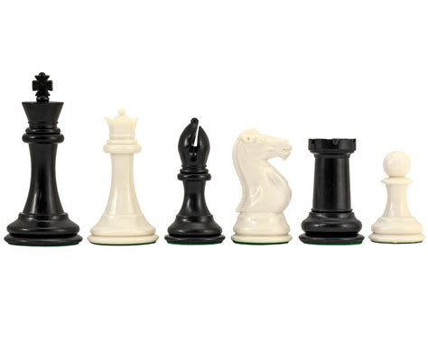 staunton chess pieces conqueror weighted staunton chess pieces 4 inches plastic