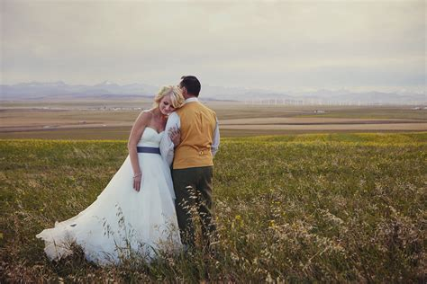 Wedding Picher by Wedding Photography In Pincher Creek Calgary Wedding And