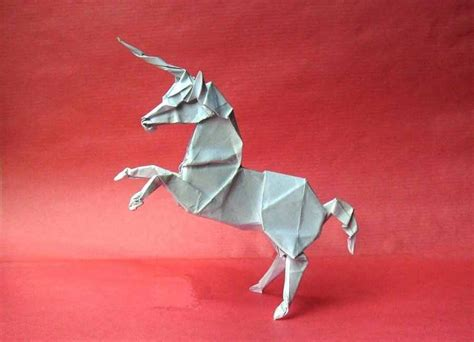 How To Make A Paper Unicorn - 35 amazing exles of origami artworks