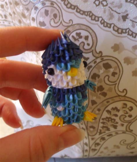 3d origami mini peacock tutorial piplup 3d mini origa album isabelle 3d origami art