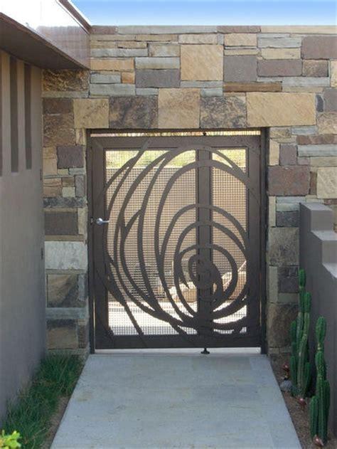 modern gate designs images  pinterest modern