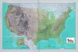 detailed map of america large detailed shaded relief map of the usa usa maps