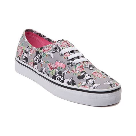 disney and vans authentic minnie mouse skate shoe my