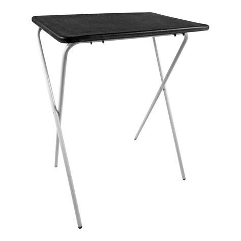 folding tv dinner table folding lightweight tray table desk ideal for laptops