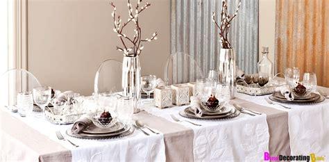 stylish holiday ideas  table decor