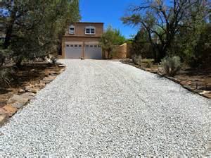 afj custom paving new gravel driveway