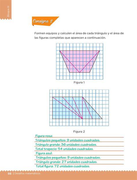 libro de matematicas pagina 97 a la 116 contestado ayuda para tu tarea de quinto desaf 237 os matem 225 ticos bloque